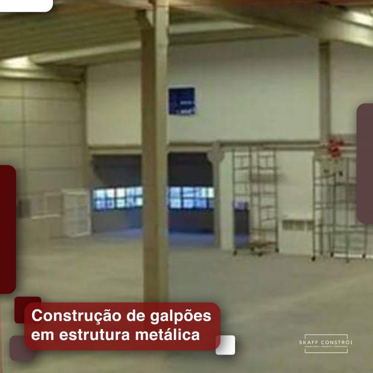Skaff Constrói - Construção de Galpões em estrutura metálica